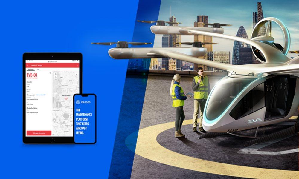Eve Urban Air Mobility to utilise Beacon's maintenance platform