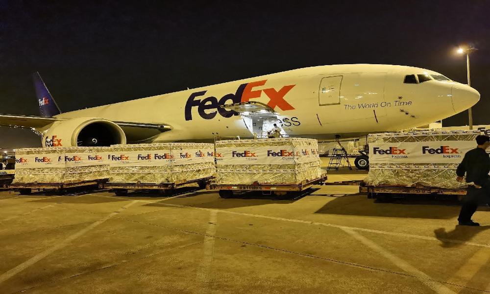 FedEx Express flies urgent shipment of 1000 oxygen concentrators to India