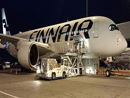 Finnair Cargo deploy IoT sensors to track air freight in real time