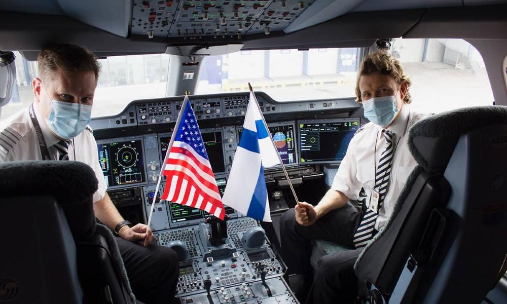 Tapping into the exceptional demand for air cargo, Finnair Cargo operated its first-ever cargo-only flight to Pittsburgh.