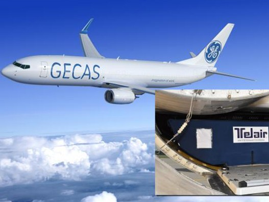 GECAS to fit Telair's flexible loading system in B737-800 converted freighters
