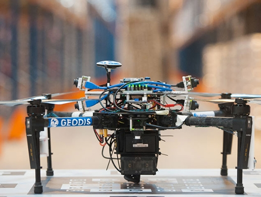 Warehouse inventory solution of Geodis, Delta Drone to kick off by year end