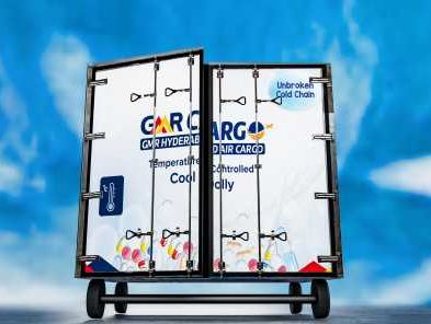 GMR Hyderabad Air Cargo invests in multi-ULD cool dolly