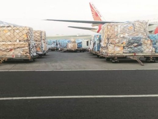 MIAL acts as Indian hub for Covid-19 supplies