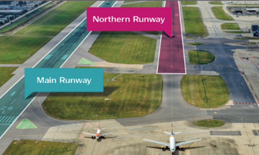 Gatwick's Northern Runway cargo volumes forecast to reach 350,000 tonnes by 2047