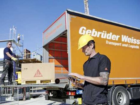 Gebrüder Weiss enables real-time planning at Sika Austria