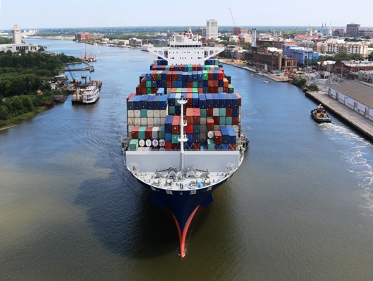 Port of Savannah sees second busiest month on record in July