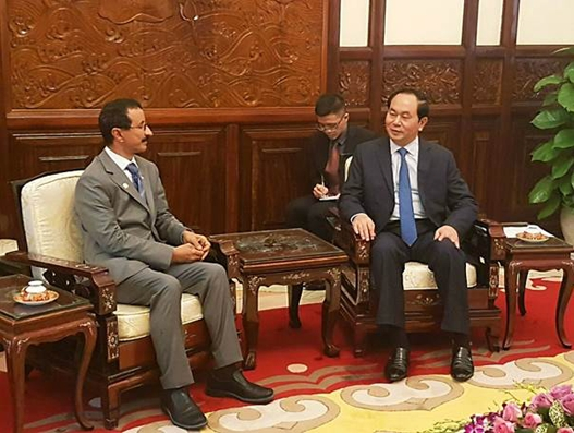 DP World Group Chairman and CEO meets President of Vietnam