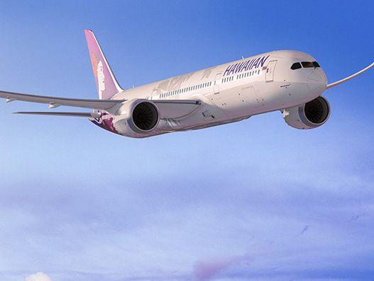 Hawaiian Airlines to buy 10 Boeing 787 Dreamliners