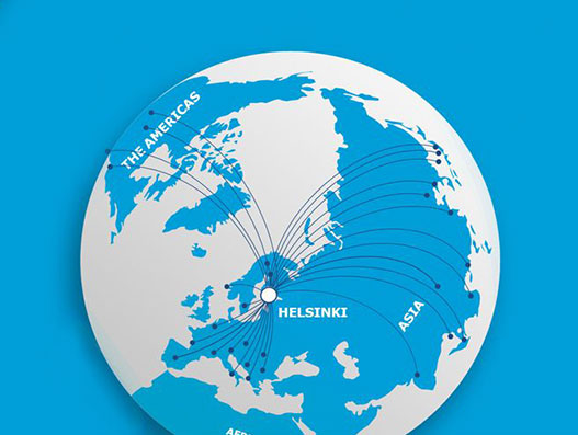Helsinki Airport strengthens position as air traffic hub, ranked the best airport in Northern Europe