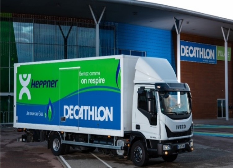 Heppner, Decathlon ink deal for more sustainable transport