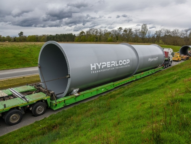 HyperloopTT sees the arrival of its first full scale passenger & freight tubes in Toulouse