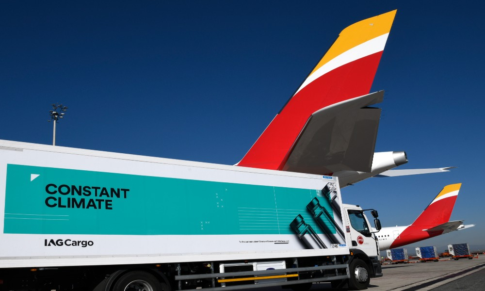 IAG Cargo announces new cargo direct route from Madrid to Dakar