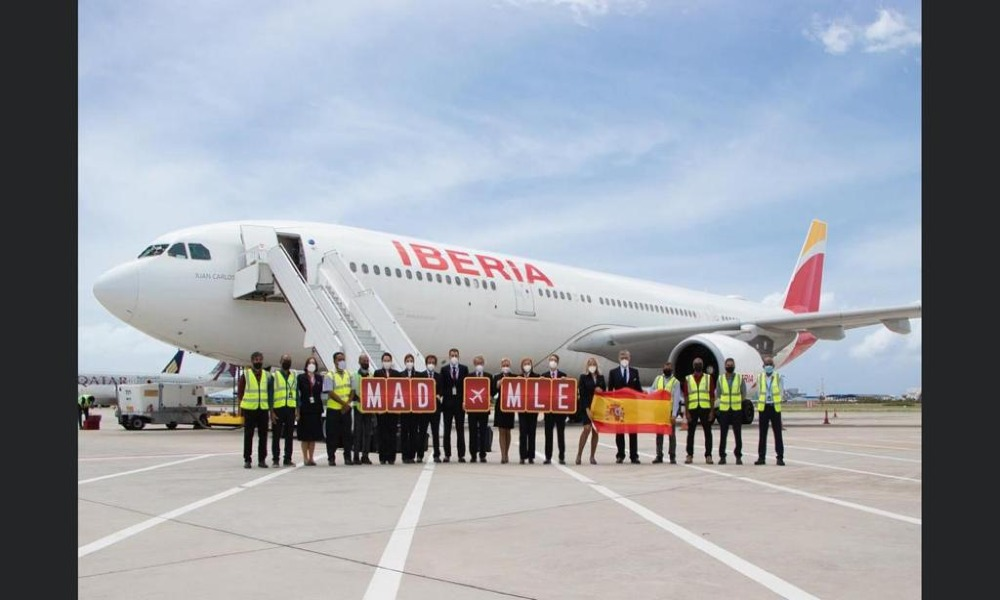IAG Cargo announces new direct service between Spain and Maldives