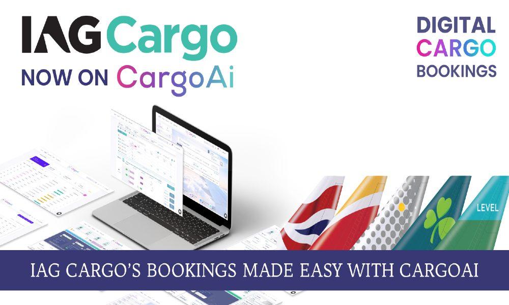 IAG Cargo connects CargoAi for global cargo capacities