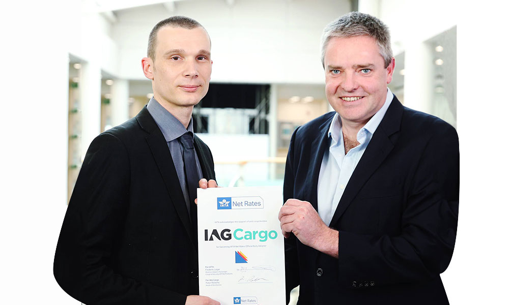 IAG Cargo partners with IATA's Net Rates platform to expand digital offering