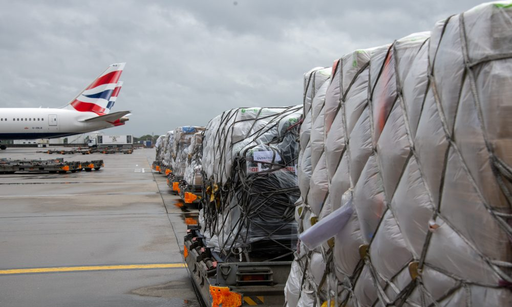 IAG Cargo transports 5000 items of urgent medical aid from London to Delhi