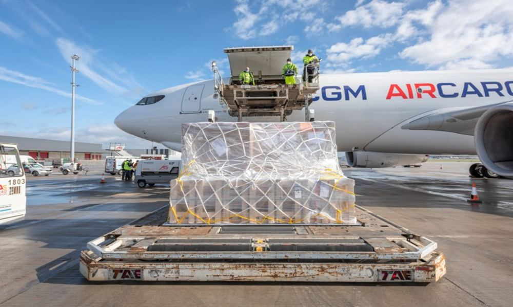 Global cargo demand sees 9.4% rise in May from pre-Covid levels: IATA