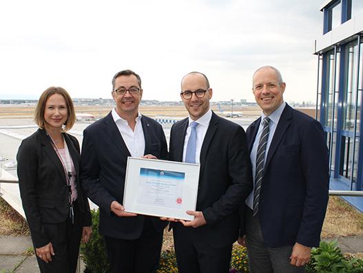 LUG Health Care Center at Frankfurt receives IATA CEIV Pharma certification