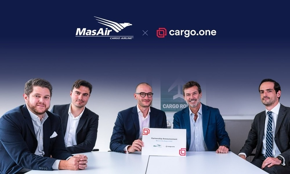 MasAir and cargo.one partner to develop real-time digital platform