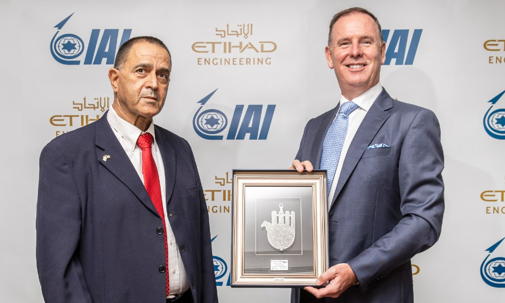 Etihad Engineering and Israel Aerospace Industries team up for P2F Conversions