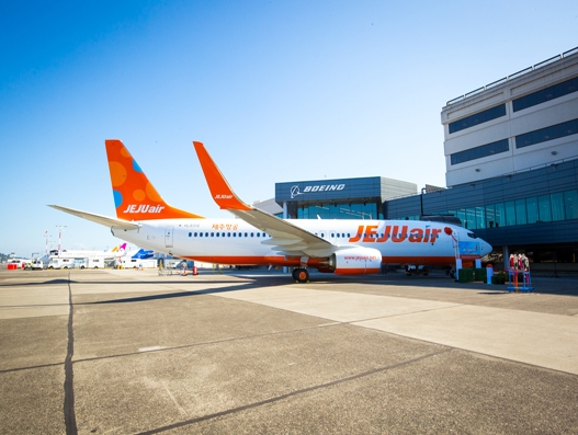 South Korea's Jeju Air receives its first Next-Generation 737-800 aircraft