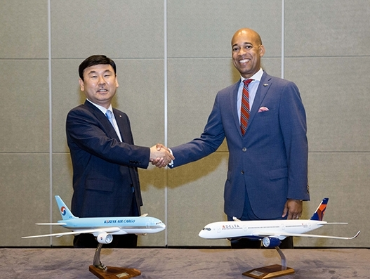 Delta, Korean Air launch cargo JV for trans-Pacific routes
