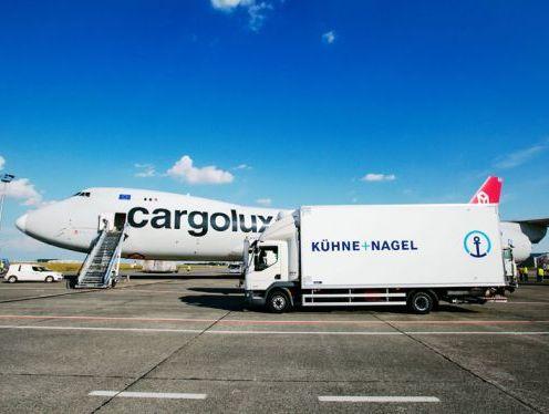 Kuehne+Nagel's air logistics net turnover rose to CHF 1.4 billion