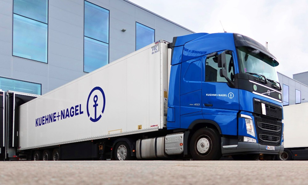 Kuehne Nagel records robust Q1 spurred by pharma, ecommerce shipments