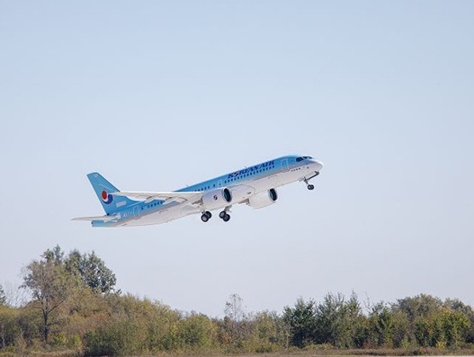 Bombardier delivers first CS300 aircraft to Korean Air Lines