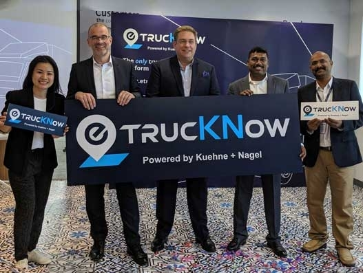 Kuehne + Nagel rolls out AI-enabled etrucKNow for faster bookings