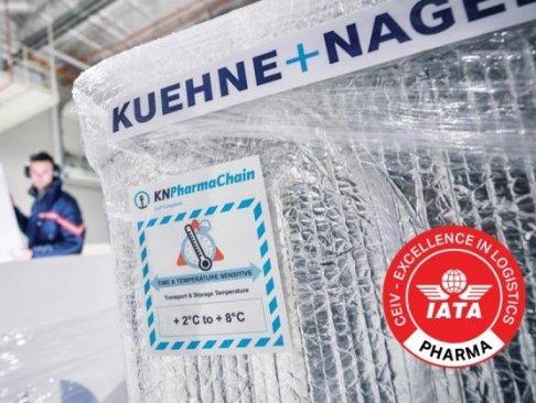 Kuehne + Nagel's KN PharmaChain re-certified IATA CEIV
