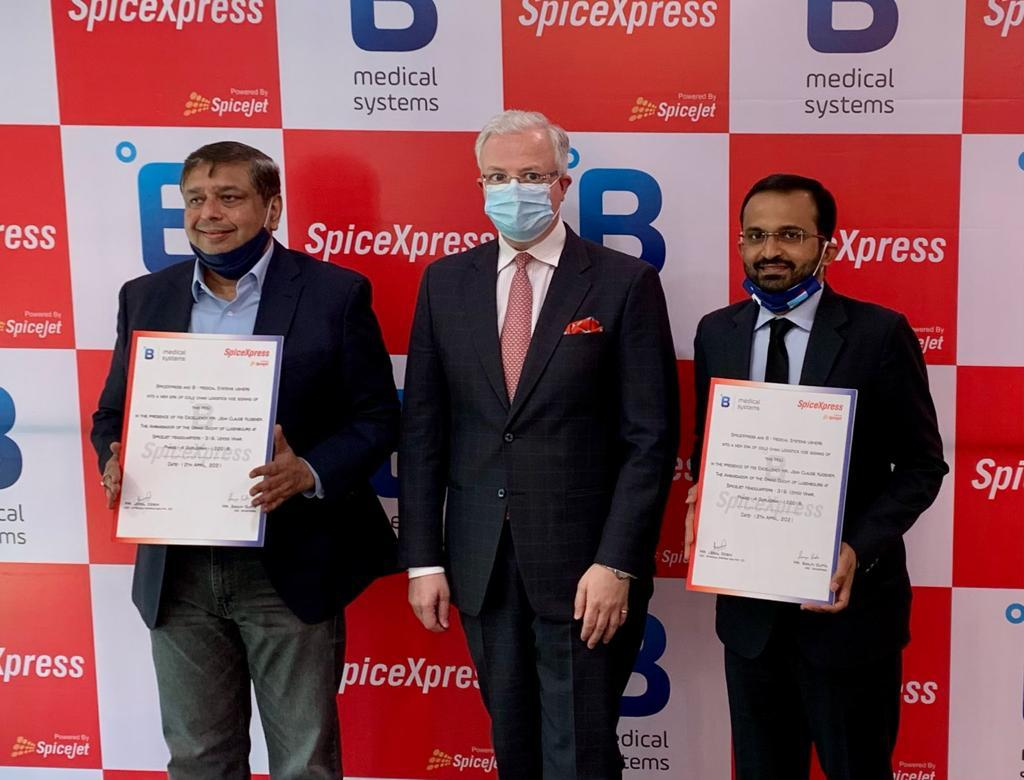 SpiceJet, B Medical Systems to open pharma logistics centres at Indian airports