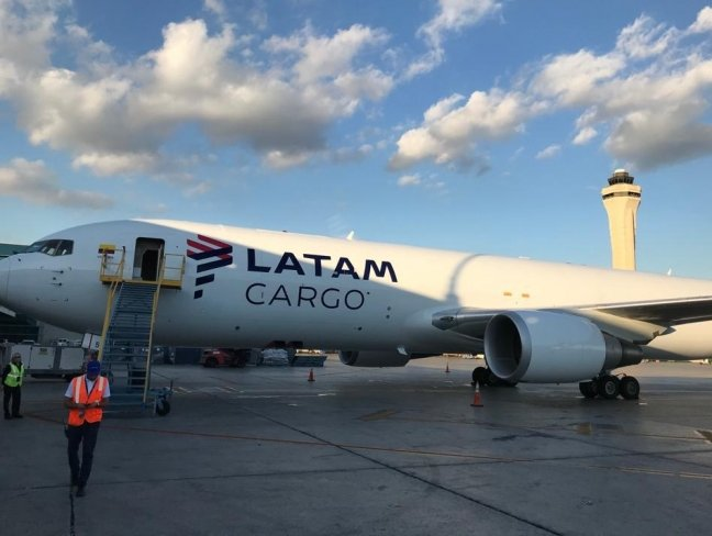 Latam Cargo adds capacity with third B767-300BCF; fleet size now 11