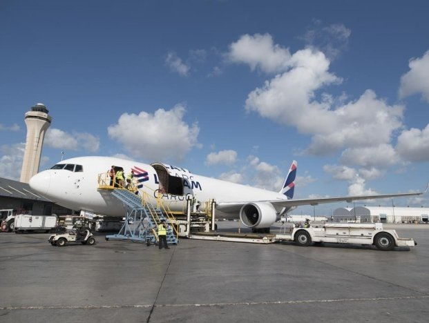 LATAM Cargo Group has made a series of modifications to its itinerary and operation to increase its transportation capacity to mitigate the decrease in belly supply