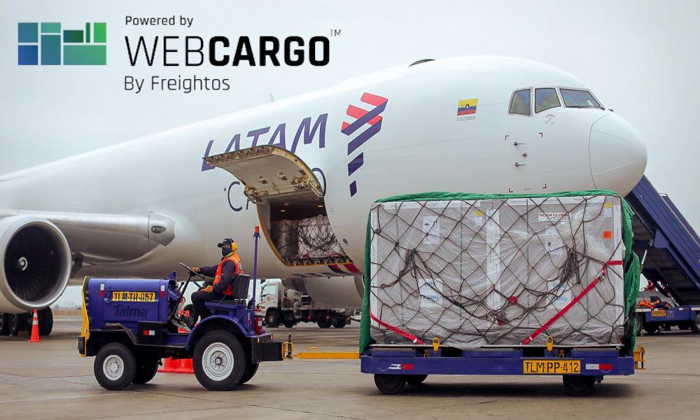 LATAM Cargo Group and WebCargo team up for eBookings