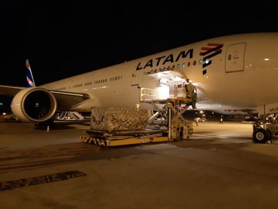 LATAM completes delivery of 160 tonnes of medical supplies to Rio