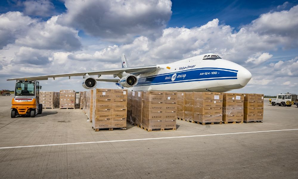Leipzig/Halle Airport to become central hub relief supplies