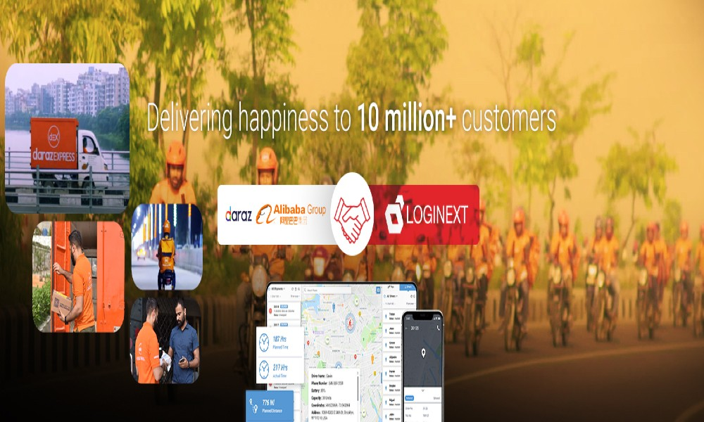 Alibaba-owned Daraz partners with LogiNext for Asia's largest ecommerce carrier network