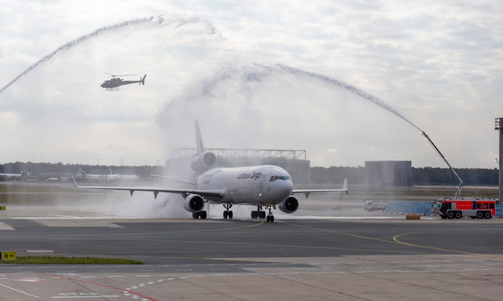 MD-11F ends journey at Lufthansa Cargo
