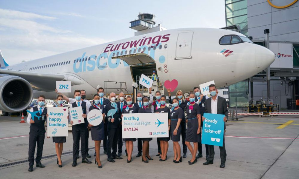 Lufthansa Cargo markets new tourist airline Eurowings Discover