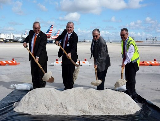 Miami Airport breaks ground on Central Base renovation project
