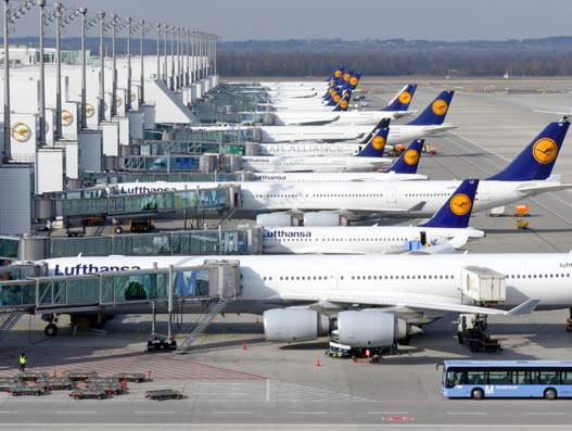 Munich Airport reports 5.5 percent surge  in passenger traffic during 2017