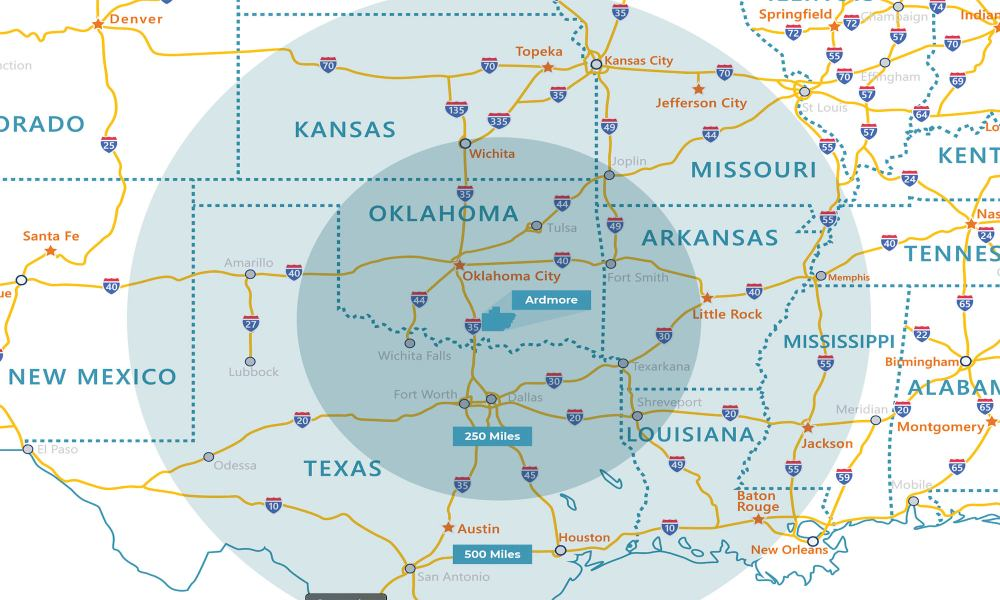 New Air Cargo Hub in Oklahoma to reduces market time and ease congestion