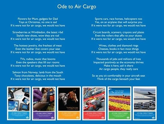 Heartfelt thank you to our unsung heroes in air cargo
