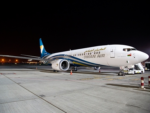 Oman Air adds new 737 MAX to its fleet