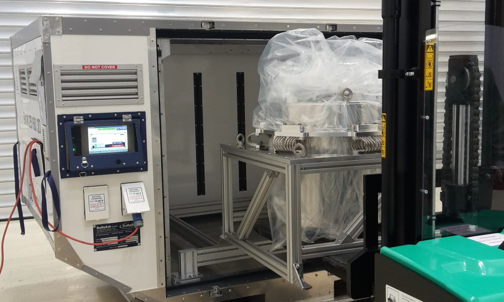 How DoKaSch helps space project Einstein-Probe to move sensitive components