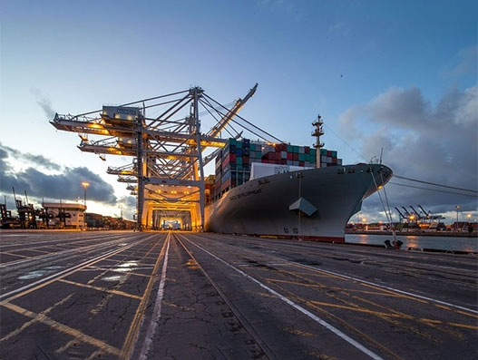 Port of Long Beach cargo volume surges by 8 percent