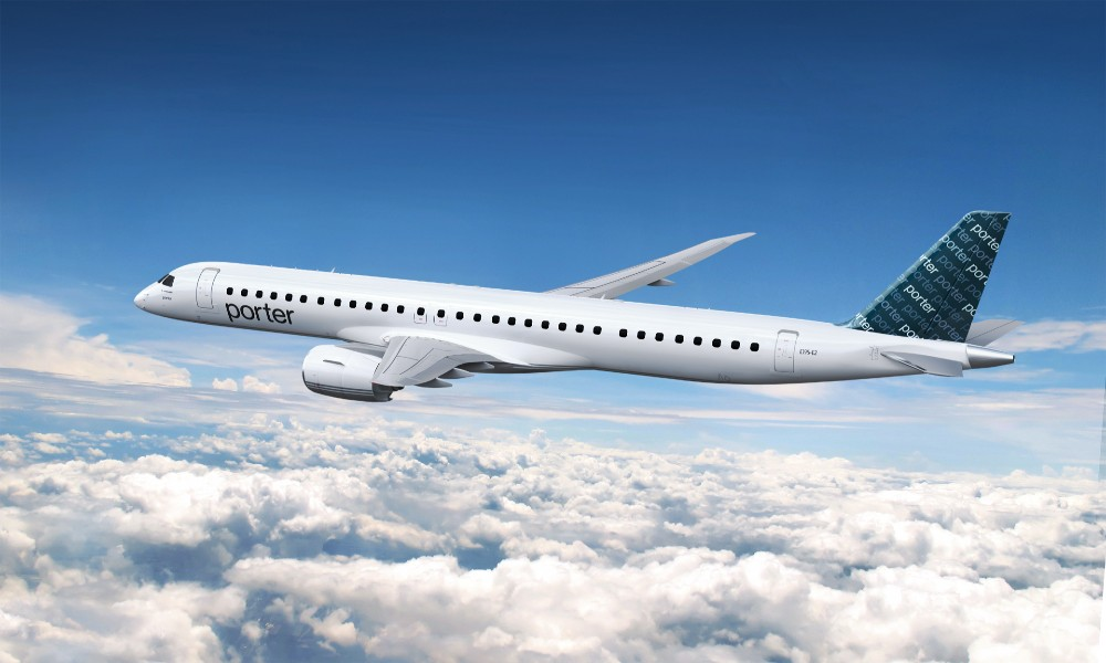 Porter Airlines orders 80 Embraer E195-E2s for service expansion
