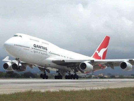 Qantas B 747 left for Wuhan to bring back Australian nationals